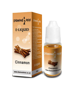 Diamond Mist Cinnamon 10ml/18mg E-Liquid Herbal Shisha flavour