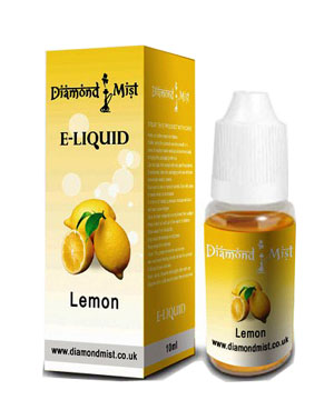 Diamond Mist Lemon 10ml/12mg E-Liquid Herbal Shisha flavour