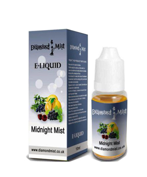 Diamond Mist Midnight Mist 10ml/18mg E-Liquid Herbal Shisha flav