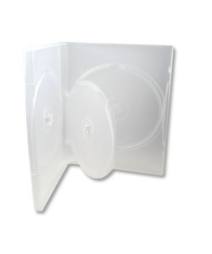 DVD Case - Clear Holds 3 Discs (14mm)