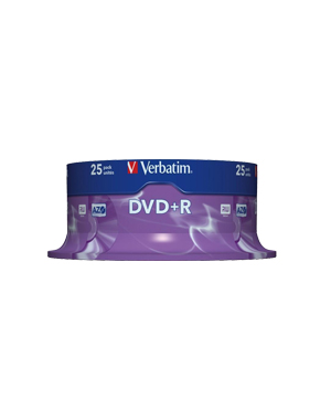 Verbatim DVD+R (16x) - 25 Spindle