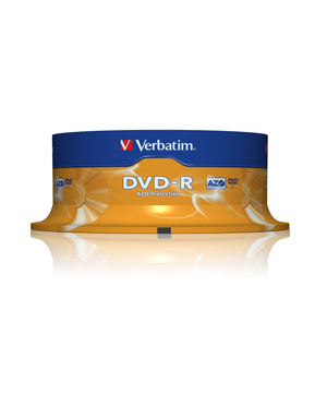 Verbatim DVD-R (16x) - 25 Spindle