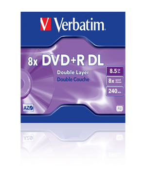 Verbatim DVD+R 8.5Gb Double Layer (8x) - Single Price