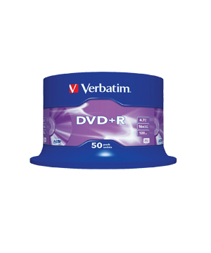 Verbatim DVD+R (16x) - 50 Spindle
