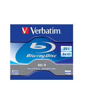 Verbatim Blu-Ray Disk 25Gb (1-2x) - Single Price