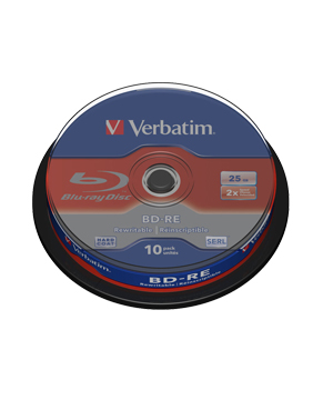 Verbatim BD-RE 25gb (10 Spindle)