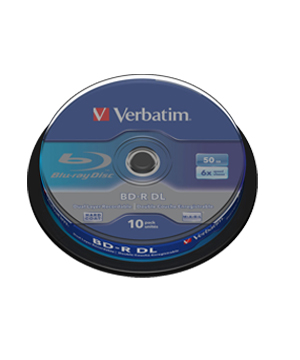 Verbatim Blu-Ray 50Gb (6x)-10 spindle