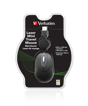 Verbatim Laser Mini Travel Mouse