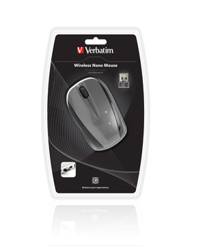Verbatim Wireless Nano Mouse -Graphite