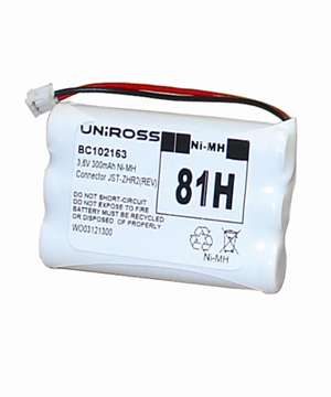 Cordless Phone Battery 81H