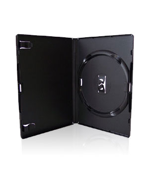 DVD Case - Amaray Premium - Single  Black