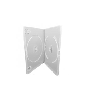 DVD Case - Amaray Premium White Double 14mm Face to face