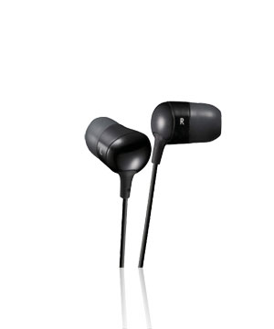 JVC In-Ear Marshmallow HAFX35 (Black)