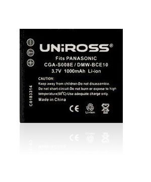 Panasonic CGA-S008 Lithium Camera Battery Replacement