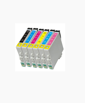 Epson T0481 TO T0486 R200/R300-(6 inks)