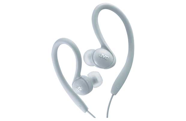 JVC  Sports In-Ear Clip HA EBX85 (Silver)