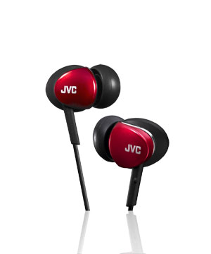 JVC In-Ear Air Cushion HA-FX67 (Red)