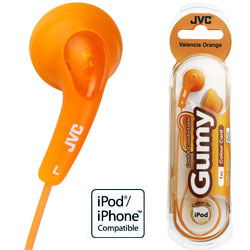 JVC Gumy In-Ear HAF 150 (Valencia Orange)