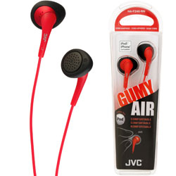 JVC Gumy Air In-Ear HAF 240 (Red)