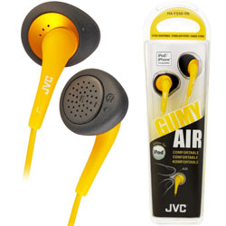JVC Gumy Air In-Ear HAF 240 (Yellow)