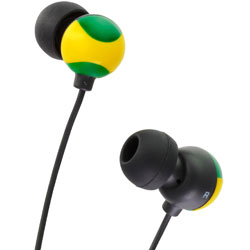 JVC Grafiti HA FX20- Yellow/Green