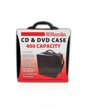 Humlin CD/DVD Carry case Holds 400