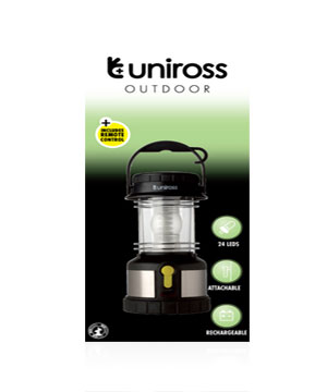 Outdoor Torch LED Rechargable Lantern