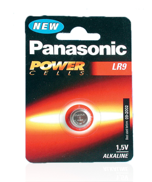 Panasonic LR9 or 625