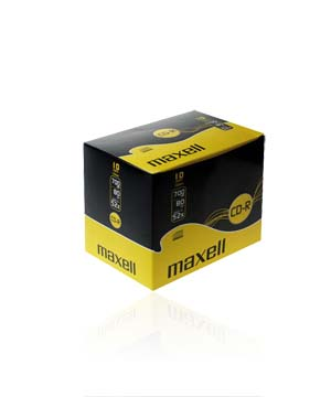 Maxell CD-R80 (52X) 10 Pack