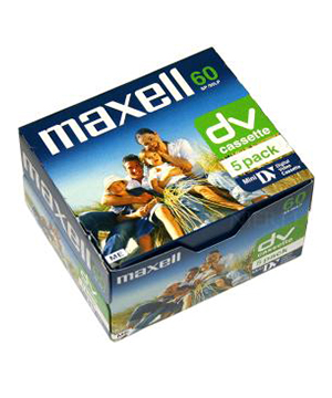 Maxell DVC 60 Mini Digital Video Tape -PACK 10