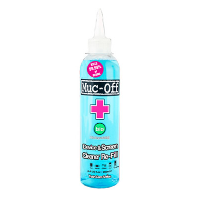 Muc-Off 250ml Antibacterial Device & Screen Cleaner Refill