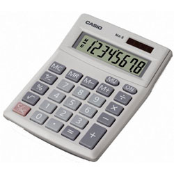 Casio Desk Calculator 8 Digit Display