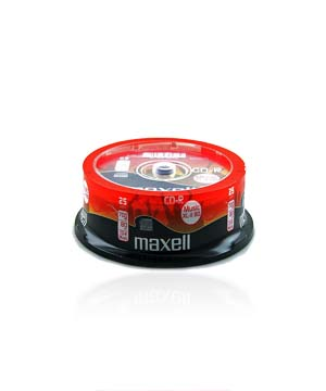 Maxell CD-R80 Audio - 25 Spindle