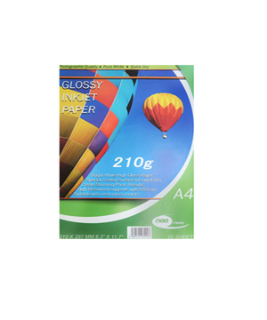 Neo Glossy Paper 210GSM Pack of 20