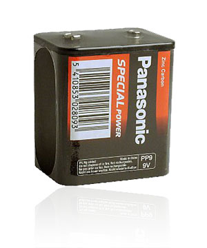 Panasonic PP9 battery-9v