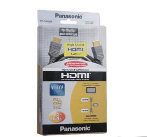 Panasonic RP-CDHS50E HDMI 5m Cable (Black)