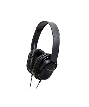 Panasonic RP-HC200E-K Noise Cancelling Headphones / Black