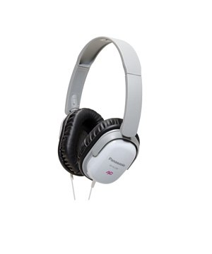 Panasonic RP-HC200E-W Noise Cancelling Headphones / White