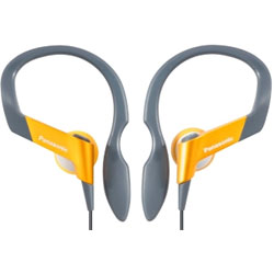 Panasonic Earphones Sport RP-HS33E - (Yellow)
