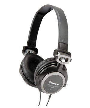 Panasonic DJ Headset with swivel head RP-DJ600E