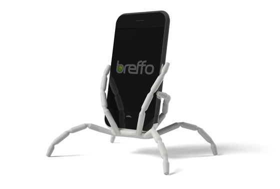 Spiderpodium White for iPhone