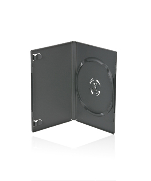 DVD Case - Amaray Premium Grey WITH STACKING HUB Holds 1,2 or3
