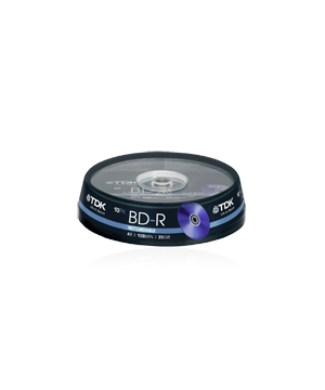 TDK BD-R 25GB (1-4x)-10 spindle