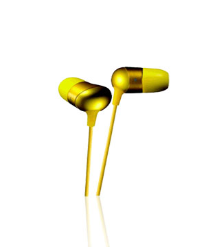 JVC In-Ear Marshmallow HAFX35 (Yellow)