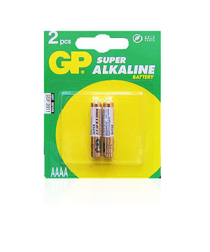 GP AAAA Size Batteries - 2 Pack