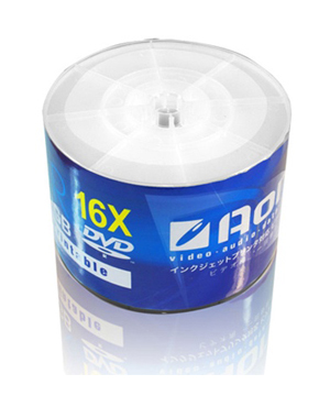 AONE DVD-R (16x) - 50 Shrink Wrap - Full Face White Printable