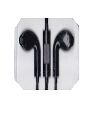 Black Earphone for iPhone