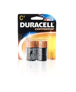 Duracell  C Alkaline Batteries - 2 Pack