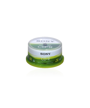 Sony CD-R80  (48x) - 30 Spindle