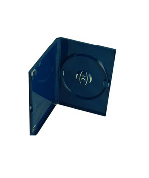 DVD Case - Coral Holds 1 Disc Blue (14mm)